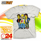 HOMER ROLLING STONES The Simpsons t-shirt SERIE TV CARTOON cartoni maglia felpa
