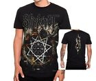 Slipknot T-Shirt  Nonagram hardcore nu metal rock dbl printed XL Last NWT