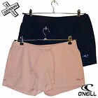 O'NEILL BOARD BABES 'CANVAS SHORT' WOMENS BLUE PINK HOT PANT UK 8 10 RRP £35