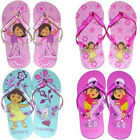 1 PAIR DORA CHILDREN GIRLS FLIP FLOPS BEACH SANDALS SLIPPERS 11/12 - 13/1 - 2/3