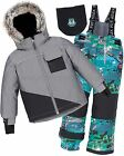 Deux par Deux Boys' 2-Piece Snowsuit Froid de Loup, Sizes 6-14
