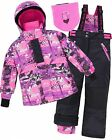 Deux par Deux Girls' 2-Piece Snowsuit Be Brave Girls!, Sizes 6-14