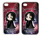 Snape Cartoon |Rubber and Plastic Phone Cover Case| After All This Time. Always.