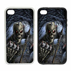 Scary Skull Forest |Rubber and Plastic Phone Cover Case | Death Metal Design