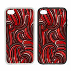 Red Hair Style |Rubber and Plastic Phone Cover Case| Abstract Design