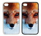 Red Fox Face |Rubber and Plastic Phone Cover Case| Cute Nature Design