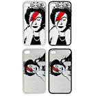 Queen Bowie Designs | Rubber And Plastic Phone Cover Case | Banksy Inspired