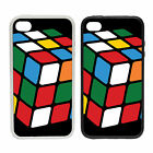 Puzzle Cube | Rubber And Plastic Phone Cover Case | Retro 70s Toys