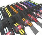 KANKU Elastic 8 color Weight Lifting Training Wraps Wrist Straps Support