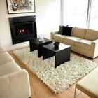 Anji Mountain Creme Modern Paper Shag Rug NEW choose from 3x5, 4x6, 5x8, 8x10