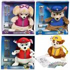 Paw Patrol Plush Soft Teddy Toy Backpack Rucksack bag And Crayons Stationery Set