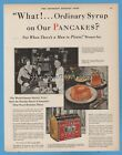 1928 Towle's Log Cabin Syrup St Paul MN Mrs Clyde Kusten 1920s Kitchen Decor Ad