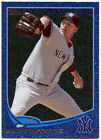 2013 Topps Silver Slate Blue Sparkle New York Yankees Baseball Card - You Pick