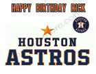 Houston Astros Personalized Edible Print Cake Toppers Frosting Sheets 5 Sizes on Ebay