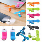 New Portable iPhone Android Phone Mini Electric Fan Cooling Cooler Samsung iPad