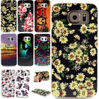 Floral Rubber Soft TPU Silicone Case Cover For Samsung Galaxy S6/edge G530 i9060