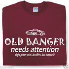 OLD BANGER funny t-shirt birthday gift idea Husband dad grandad famousfx