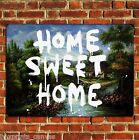 BANKSY GRAFFITI HOME SWEET HOME POSTER QUALITY WALL ART PRINT PICTURE A4 A3 A2