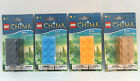 LEGO CHIMA BRICK PENCIL SHARPENER - 4 COLOURS TO CHOOSE - OFFICE OR HOME