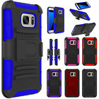 Outer Box Case Cover w/Belt Clip Holster Stand Hard for Samsung Galaxy S7 Active