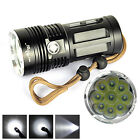 Внешний вид - 10000 LM 9x XM-L T6 LED 18650 Tactical Flashlight Torch Hunting Lamp Light HOT