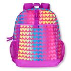 "TCP GIRLS HEARTS BACKPACK SCHOOL BOOK BAG LARGE 16""X10.5"""