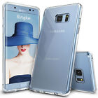 For Samsung Galaxy Soft TPU Gel Silicone Ultra Transparent Case Cover + 2 Gift
