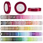 "25 Yards Satin Ribbon 1"" 25mm Wedding Party Supplies DIY RN0006"