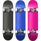 Blank Complete Skateboard Stained BLACK 7.75