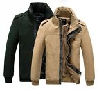 TSN123 New Men's Casual Thick Winter Coat Warm Jackets Military Parka Outerwear