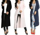 Zeta Ville - Women's Knitted Warm Coat Long Cardigan Hood - Long Sleeves - 929z