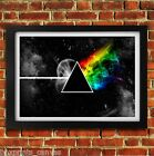 PINK FLOYD DARK SIDE POSTER FRAMED WALL ART PRINT PICTURE SMALL MEDIUM LARGE