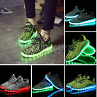 Neu Unisex LED Modelle Shoes Farbwechsel RGB USB Leuchtschuhe Schuhe Sneakers