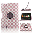 """360 Rotating Leather Smart Case Cover Stand For Amazon Kindle Fire HD HDX 7/8.9"""""""