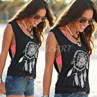 Summer Sexy Women Vest Top Sleeveless Blouse Casual Tank Tops T Shirt Blouse