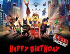 Lego Movie Personalized Edible Print Premium Cake Topper Frosting Sheets 5 Sizes