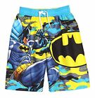 DC COMICS SUPERMAN MAN OF STEEL BOYS SWIM TRUNKS / SHORTS SWIMSUIT Medum / 8