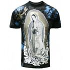 The Virgin Mary UFC Style Men's Graphic T-shirts J1T786BK