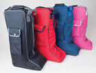 Rhinegold Long Riding Boot Storage Bag All Colours Great Gift FREE P&P