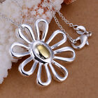 New 35 Style 925 Sterling Silver Plated Women Men Charm Necklace Pendant Jewelry