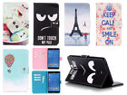 "New Painting Leather Flip Smart Case Cover for Samsung Galaxy Tab A 10.1"" T580"