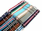 24mm Nylon Watch Strap Band Sports Military Replacement New Pattern multicolored