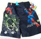 New Youth SpiderMan Glow in the Dark Swim Trunk Different Sizes Available