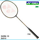 Yonex Japan Badminton DUORA10 Racquet Racket Choice of String Made In Japan