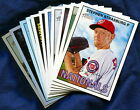 2016 Topps Heritage Washington Nationals Baseball Card Your Choice - You Pick