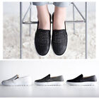 New SN147 Cool Punching Women Slip On Sneaker Skate Trainers Loafer Casual Shoes
