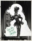 Ann Sothern (+) autograph, signed vintage photo 10 x 13
