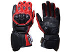 Motorbike Kevlar Knuckle Protection Motorcycle Professional Long Leather Gloves