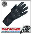 Richa Warrior Motorcycle Motorbike Glove - Black