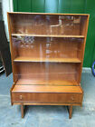 "STYLISH VINTAGE RETRO ""TURNIDGE TEAK BOOKCASE / CABINET / C1960-70's"
